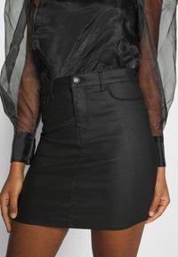 Vero Moda - VMSEVEN SKIRT - Mini skirt - black - 4