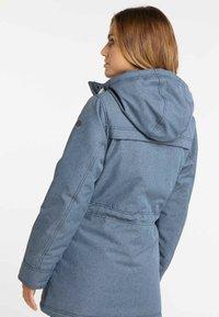 DreiMaster - Winter coat - marine melange - 2