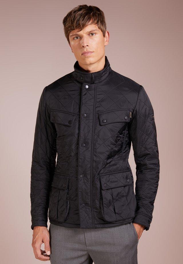 ARIEL POLARQUILT - Lehká bunda - black