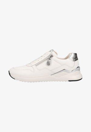 Sneakers laag - weiss/silber
