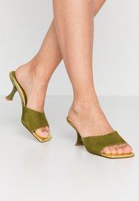 Jeffrey Campbell - MR-BIG - Heeled mules - mint green - 0