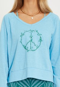 Yogasearcher - LONG SLEEVED  - Longsleeve - light blue - 3