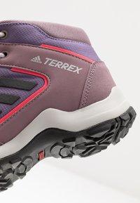 adidas Performance - TERREX HYPERHIKER TRAXION HIKING SHOES - Outdoorschoenen - tech purple/core black/shock red - 2