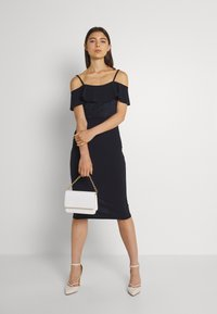 WAL G. - EMAAN MIDI DRESS - Cocktail dress / Party dress - navy blue - 1