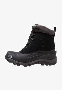 The North Face - CHILKAT III - Winter boots - black/dark gull grey - 0