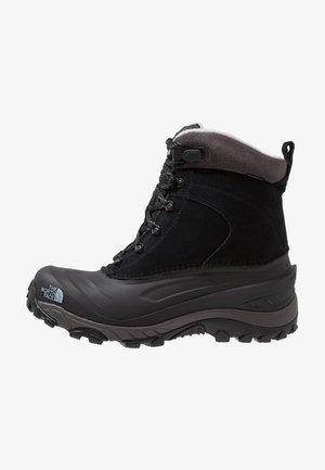 CHILKAT III - Winter boots - black/dark gull grey