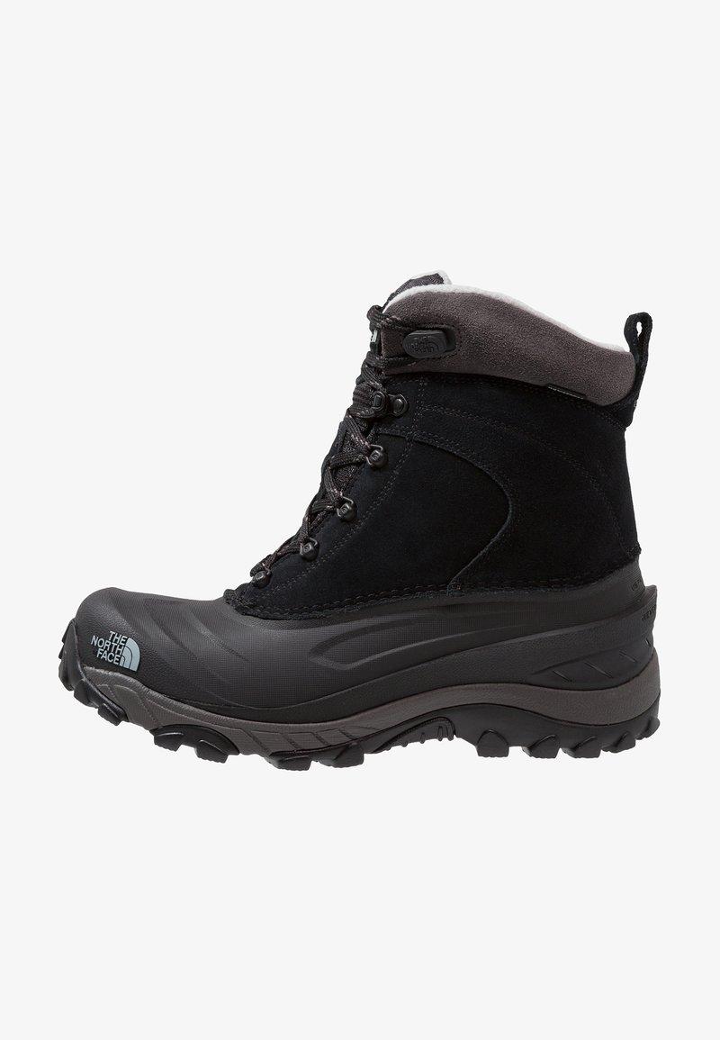 The North Face - CHILKAT III - Winter boots - black/dark gull grey