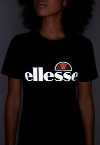 Ellesse - BARLETTA - Print T-shirt - black - 3