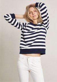 Hunkydory - Sweatshirt - white / blue - 3