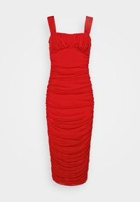 Nly by Nelly - SHAPED BUST DRESS - Cocktailkjole - red - 0