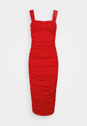 SHAPED BUST DRESS - Cocktailkjoler / festkjoler - red
