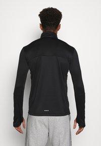 adidas Performance - AEROREADY PRIMEGREEN TRAINING - Sports shirt - black/white - 2