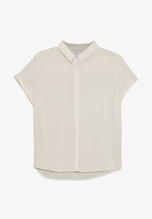 MAJAN - Button-down blouse - warm white