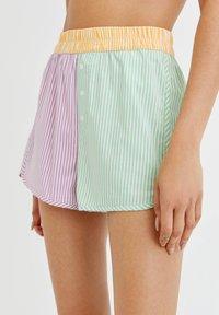 PULL&BEAR - Shorts - multi-coloured - 4