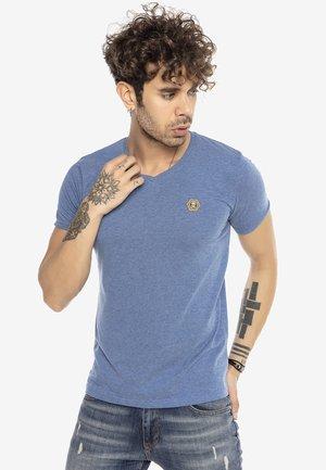 TORRANCE - Print T-shirt - blue