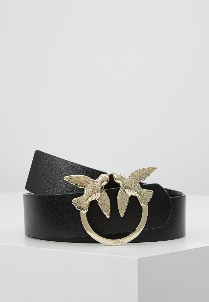 Pinko - BERRI SIMPLY BELT - Pasek - black