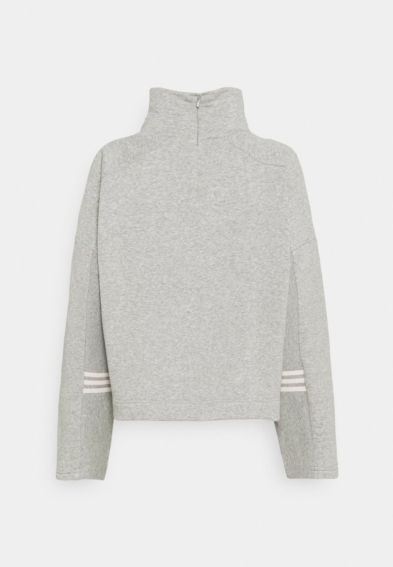 adidas Performance - Sweatshirt - mottled grey heather