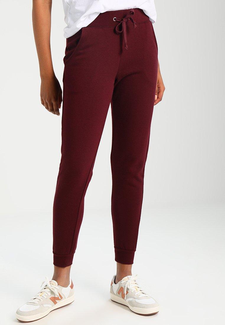 New Look - BASIC BASIC  - Pantaloni sportivi - dark burgundy
