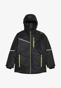 CMP - BOY JACKET FIX HOOD - Ski jacket - antracite - 3