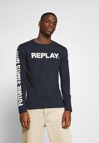 Replay - Long sleeved top - dark blue - 0