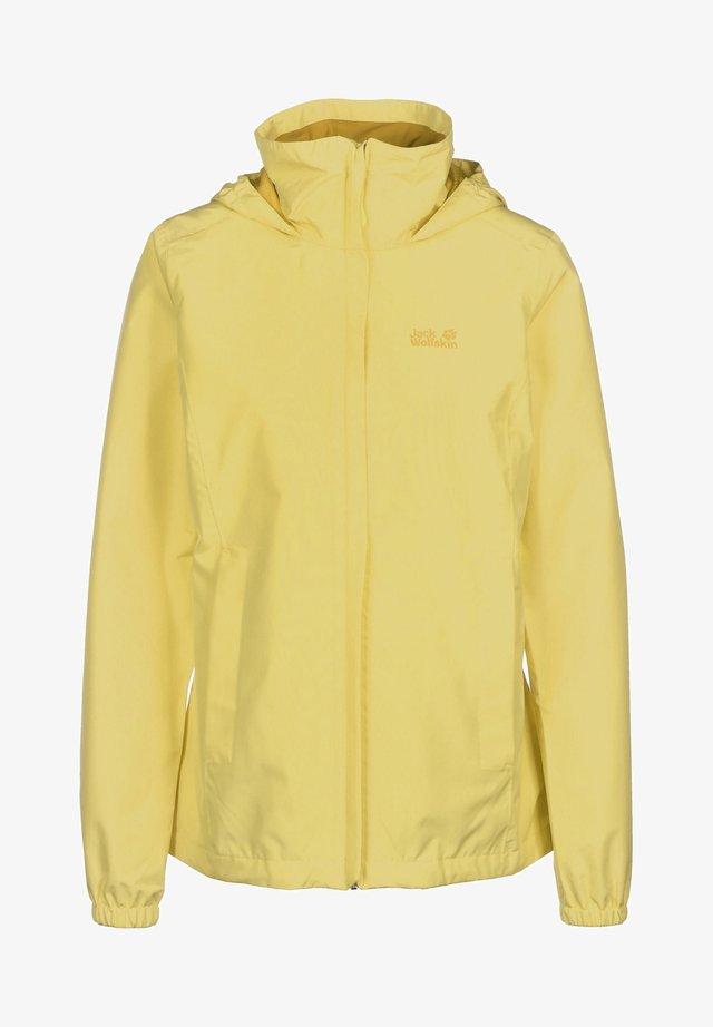 Outdoorjacka - yellow