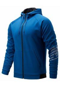 New Balance - Zip-up sweatshirt - captainblue - 0