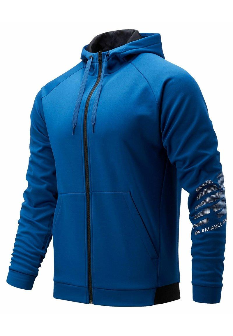 New Balance - Zip-up sweatshirt - captainblue