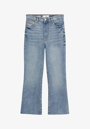 SIENNA - Jean flare - medium blue