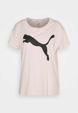 LOGO TEE - Camiseta estampada - cloud pink