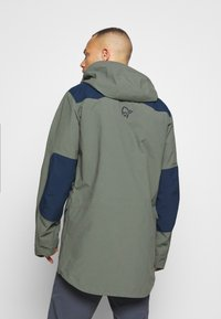 Norrøna - TAMOK GORE-TEX PRO JACKET - Hardshell jacket - grey - 2