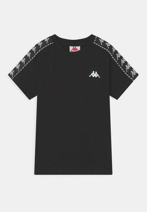 ILYAS UNISEX - T-shirt imprimé - caviar