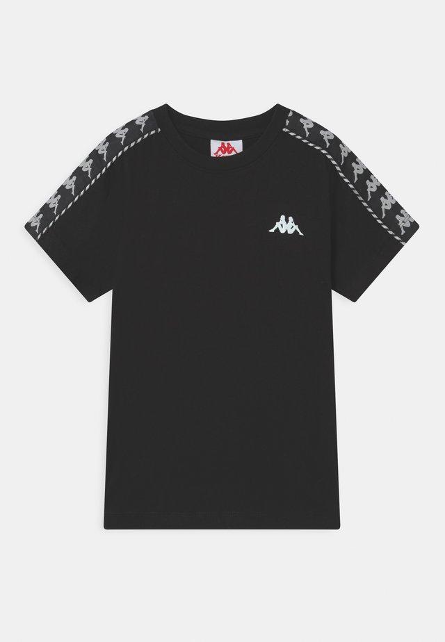 ILYAS UNISEX - T-shirt con stampa - caviar
