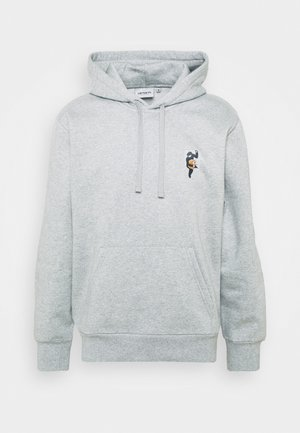 HOODED TEEF - Sweatshirt - grey heather