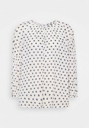 ORGANIC FINE VOILE - Blouse - print off white