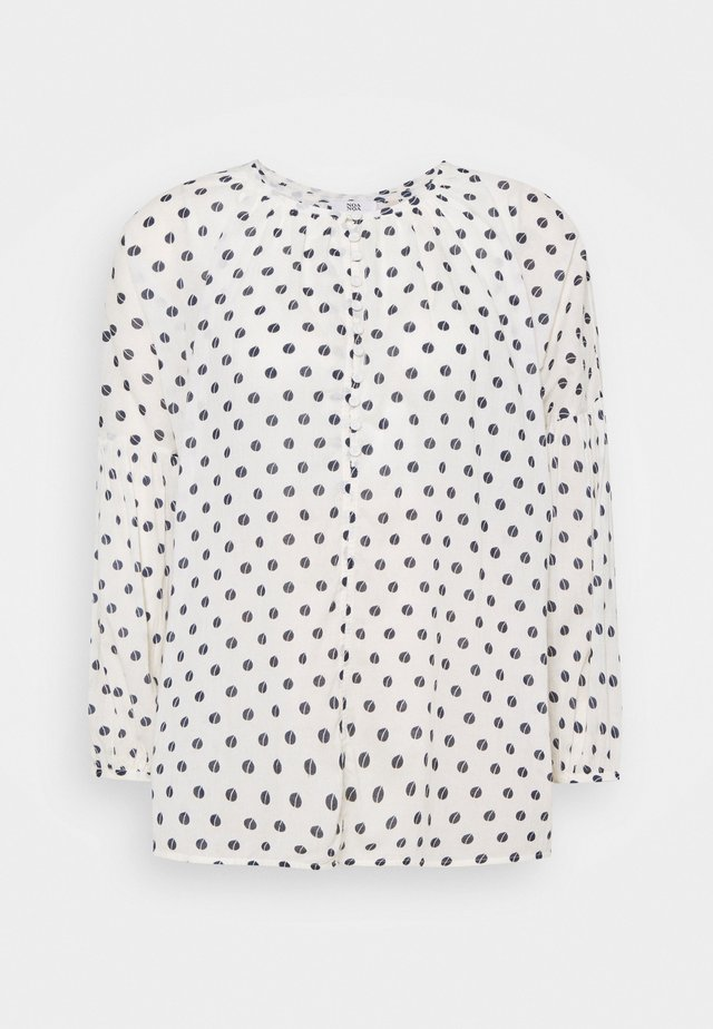 ORGANIC FINE VOILE - Blusa - print off white
