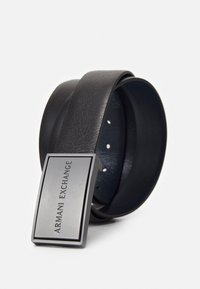 Armani Exchange - BELT - Belt - black/black - 2