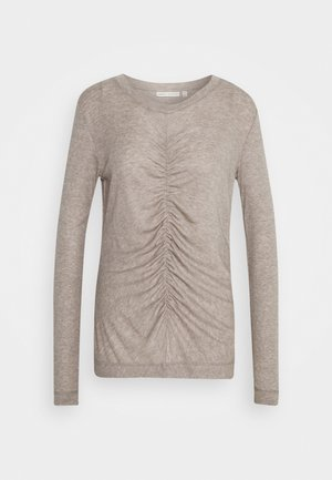 CLOSE TO HOME ONECK - Sweter - taupe gray melange