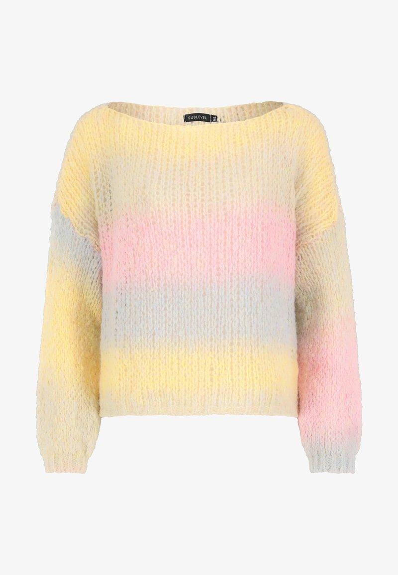 Sublevel - Jumper - yellow