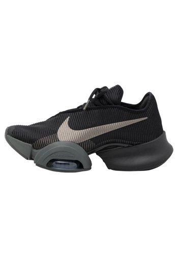 AIR ZOOM SUPERREP 2 UNISEX - Trainings-/Fitnessschuh - black/mtlc pewter-iron grey-mtlc pewter