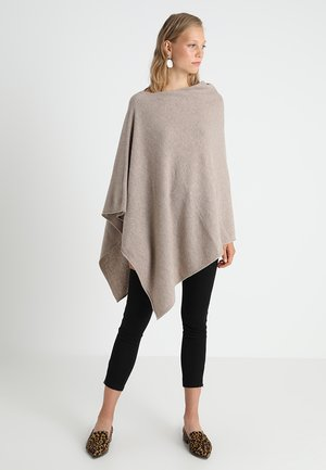 KRISTANNA - Cape - light camel melange