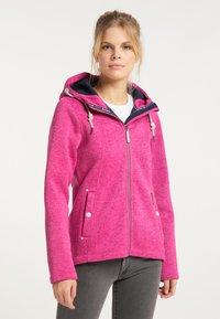 Schmuddelwedda - Winter jacket - pink melange - 0