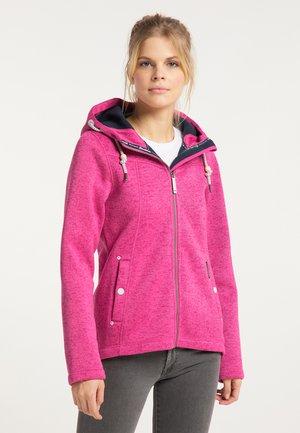 Winterjas - pink melange
