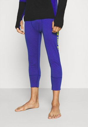 SHAUN OFF 3/4 LEGGING - Base layer - ultra blue
