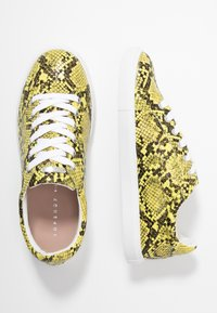 Topshop Wide Fit - WIDE FIT COLA - Trainers - yellow - 3