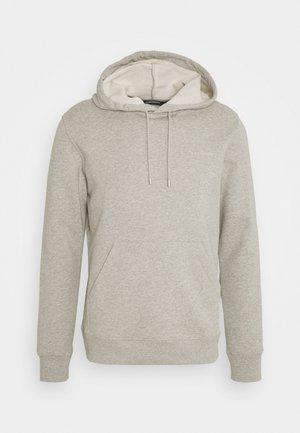 THROW CLEAN HOODIE - Sweatshirt - grey melange