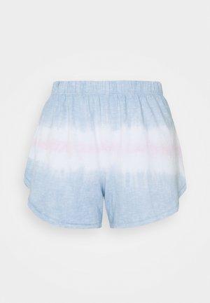 TIE DYE BOXER - Pyjama bottoms - cloudy blue