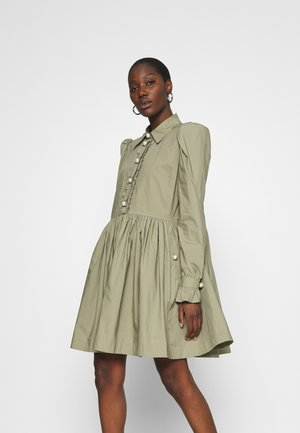 LILA - Shirt dress - mermaid green