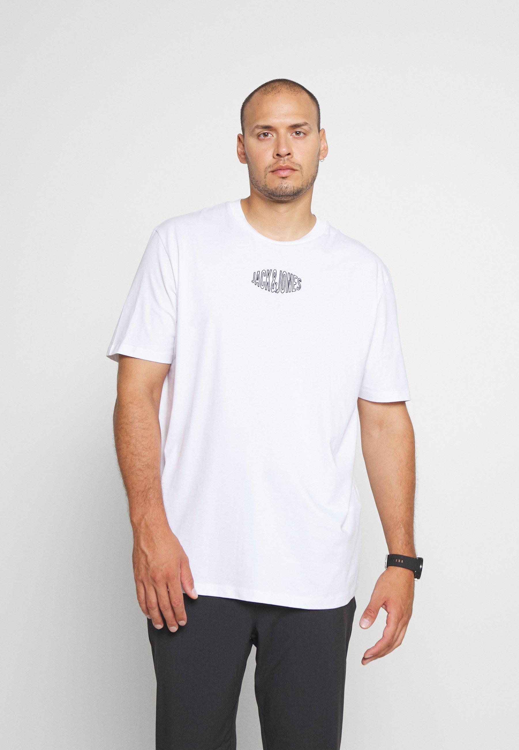 Men JORWORLDS TEE CREW NECK - Print T-shirt