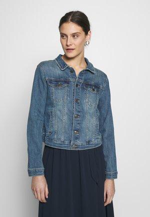ROCK - Džínová bunda - vintage blue denim