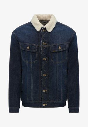 SHERPA - Denim jacket - deep kansas